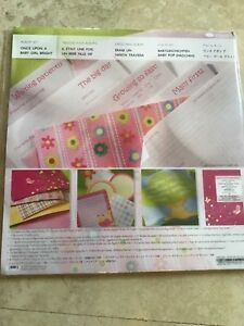 CREATIVE MEMORIES ONCE UPON A BABY GIRL BRIGHT ALBUM KIT 12 X 12  KIT NIP