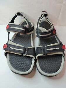 Nike ACG 318974-061 Santiam Black Adjustable Sport Sandal Shoes Men's US 12