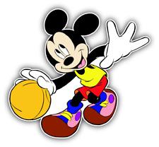 Mickey Mouse Ball Cartoon Car Bumper Sticker Decal 4'' x 5''