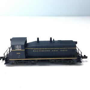LIFE-LIKE N SCALE SW9/1200 DIESEL SWITCHER LOCOMOTIVE Baltimore & Ohio #599