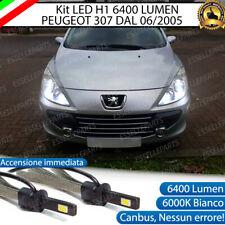 KIT FULL LED PEUGEOT 307 RESTYLING LAMPADE ANABBAGLIANTI LED H1 6000K BIANCO