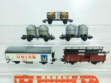 BR482-1 #5x Märklin H0/Ac Freight Wagon Db: 4510 Bordeaux +4511 + Union Beer