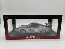 AutoArt 1:18 Porsche 911(996) GT3 RsR ALMS 2005 ALEX JOB #71 NIB J1