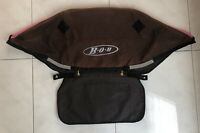 BOB Revolution Jogger Stroller Brown / Pink CANOPY - Cloth Only -  2004-10.