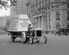 Historical Photograph of Fordson Farm Tractor In Expo Parade 1922  8x10