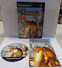 Game SONY Playstation 2 PS2 Station PAL ITALIANO DRAKAN THE ANCIENTS' GATES Ita