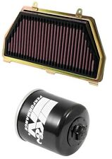 K&N Air Filter + Oil Filter Combo 2007-2015 Honda CBR600RR / HA-6007 + KN-204