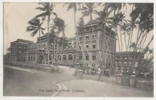 The Galle Face Hotel Colombo Ceylon Vintage Postcard US050