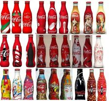 Lotto Coca Cola 27 bottiglie Europei Trussardi Limited 2013 Coke Italy bottles