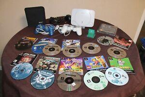 Playstation One + 2 Original Controller + Memory Card + 13 Spiele