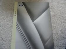 2003 Ford Focus Taurus Crown Victoria Windstar ZX2 Sales Brochure