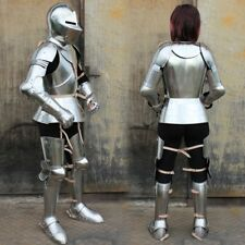 MEDIEVAL WEARABLE KNIGHT WOMAN FULL ARMOR SUIT ARMOUR COSTUME REENACTMENT NEW MA