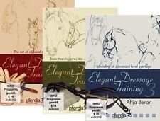 Elegant Dressage Training Vol 1,2 & 3  Anja Beran - Classical Dressage DVD