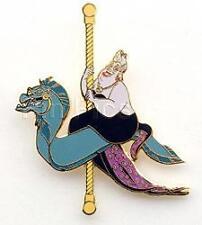 Disney Auctions Carousel Horse Ursula Villains Le Pin