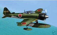 A6M-2-N Zero Floatplane Rufe A6M2 Airplane Desktop Wood Model Big New