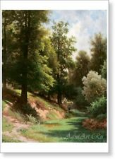 By Kamenev Fine Art print NEW Pond in the Park