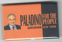 Carl PALADINO New  York Governor pin For the People pinback ALSO Ran REPUBLICAN