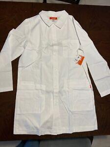 White Lab Coat New Unisex Size M Brand Orange Standard From The Designers Of Koi