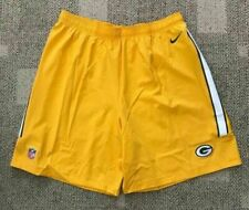 Men's Nike NFL Green Bay Packers Shorts -Size XL -748417 750 -NEW-