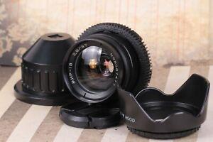 MIR-1V (B) Fast Cine 4K ANAMORPHIC BOKEH&FLARE Lens for RED One, ARRI CINEMA