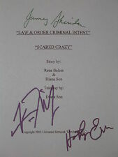 Law and Order: Criminal Intent Signed TV Script X3 CI Vincent D' Onofrio reprint