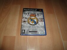 Real Madrid club Football 2005 Sony PS2 Español precintado