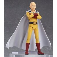 14cm Anime ONE PUNCH MAN Saitama PVC Action Figure Collection Model Toys