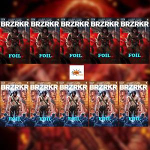BRZRKR #1 Pre-Order 10 Copies - 5 A Foils and 5 B Foils Investor Pack! Movie?