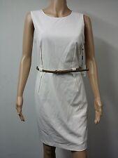 NWT FAST to AUS - Calvin Klein Petite Sleeveless Dress - Size 14P - Cream $89.98