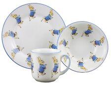 More details for reutter porcelain peter rabbit plate bowl & mug china gift set in box
