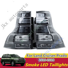 Smoke LED Tail Lights Stop Lamp k For Toyota Land Cruiser Prado FJ150 2010-18