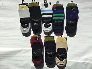 Gold Toe No Shoe Socks Moisture Management 3 per Pack New Tags