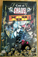 """1997 KROME CAST OF CHAOS! SEALED FRACTAL """"HOT BOX"""" 36 PACKS *RARE* PARALLEL BOX"""