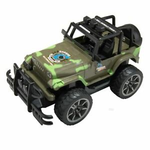 High Speed Remote Control Kids Toy Car Military Jeep Sport Model Vehicle Gift