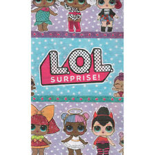 LOL SURPRISE PAPER TABLE COVER ~ Birthday Party Supplies Cloth Decoration Dolls