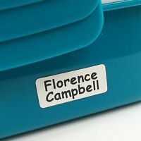 30 UltraStick WATERPROOF Printed Name Labels NEW LINE for lunch boxes etc