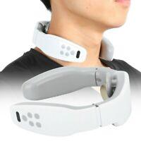 Electromagnetic Electric Pulse Neck Shoulder Back Massager Kneading Pain Relief