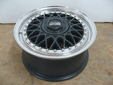 BBS RM 010 in 7x15 et40 OPEL 4x100 Anthracite/poli à! 2 pièces jantes ALU TOP!