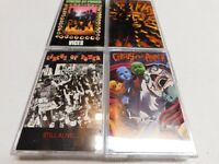 Lot of 4 Cassettes Circus of Power Vices, Magic & Madness, Still Alive, Self