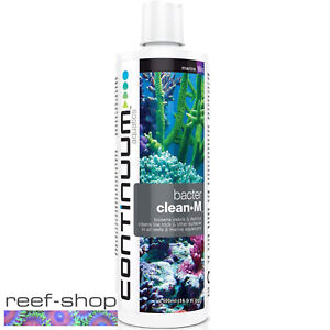 Continuum Bacter Clean-M 500mL Marine and Reef Cleaning Liquid Bacteria Culture