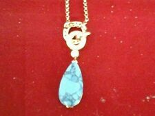 Unbranded Turquoise Crystal Costume Necklaces & Pendants