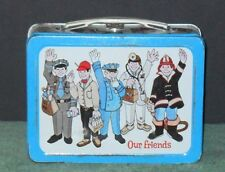 1970  Our Friends Vintage Lunch Box By Okay Ind. Rarity 9