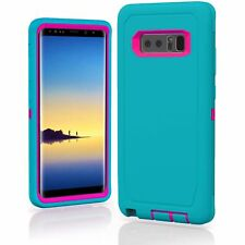For Samsung Galaxy Note 8 Case Shockproof Hybrid (Fits Otterbox Defender Clip)