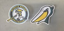 CHOICE: Myrtle Beach Pelicans Throwback MiLB Minor League Baseball Jersey Patch