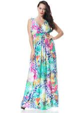 Boho Floral Plus Size Dresses for Women