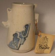 Signed Mystery Artist Studio Pottery Southwestern Style 4 3/8