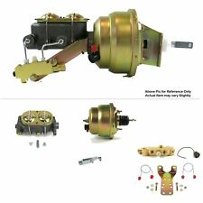 "1968-1974 Chevy Nova Firewall Mount Power 7"" Dual Brake Booster Kit Disc/Drum"