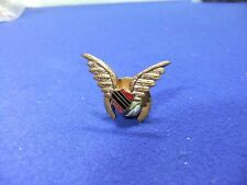 vtg badge pilot wings ? winged shield aviation air force 1930s 40s ww2 ? navy