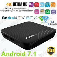 M8S Pro TV Box S912 Android 7.1 4K HD 2GB DDR4 RAM Octa-Core CPU WI-FI Streamer