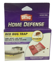 One 2 Pack Ortho Home Defense Bed Bug Trap With Lure